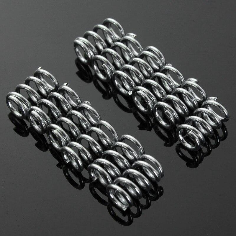 12 unids Nivelación 8mm Extrusora Impresora 3D de acero inoxidable Resortes para