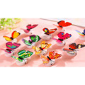 10pcs Colorful Changing Butterfly LED Night Light Lamp Home Room Party Desk Wall Decor