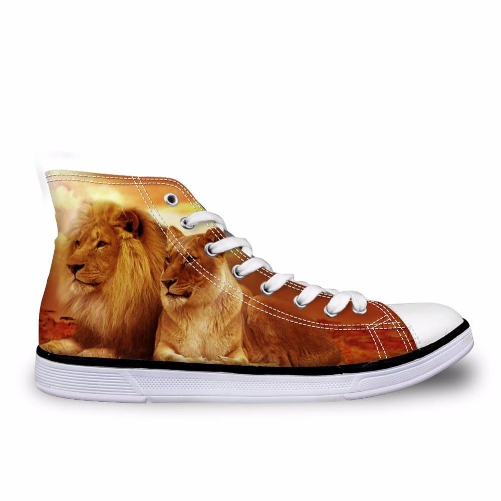 Hommes Mâle Plat Lions Sneakers Ca5071ak ca5073ak ca5075ak Toile Animaux 3d Customized ca5072ak Brun ak Casual Lacent Noisydesigns Top ca5074ak High Impression ca5076ak Chaussures Vulcanisé Garçons Vintage zPWdnqZU