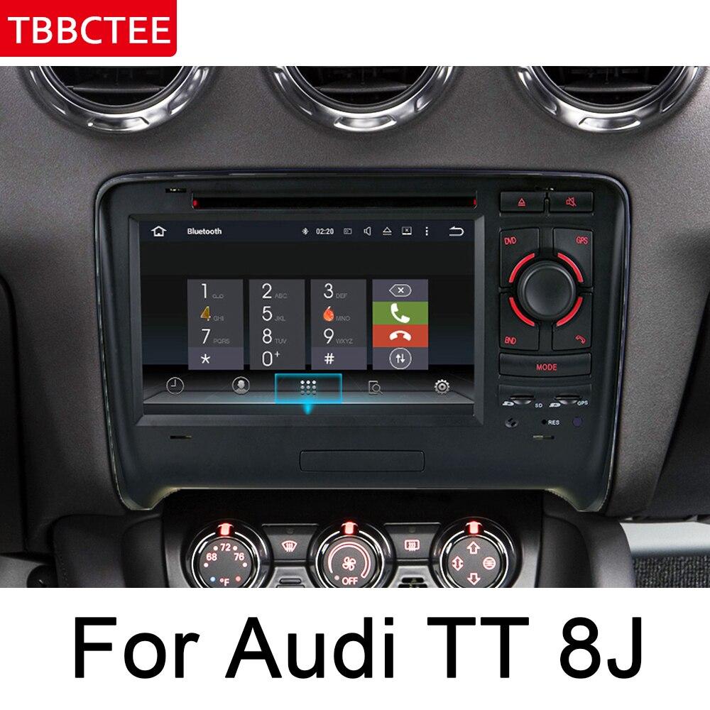מערכת ניווט GPS עבור אאודי TT 8J 2006 ~ 2014 MMI IPS Android רכב DVD ניווט GPS מולטימדיה נגן סטריאו רדיו WiFi מערכת Navi ראש היחידה HD (1)