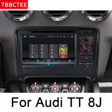 For Audi TT 8J 2006~2014 MMI IPS Android Car DVD GPS Navigation Multimedia Player Stereo Radio WiFi System Navi Head Unit HD цены онлайн