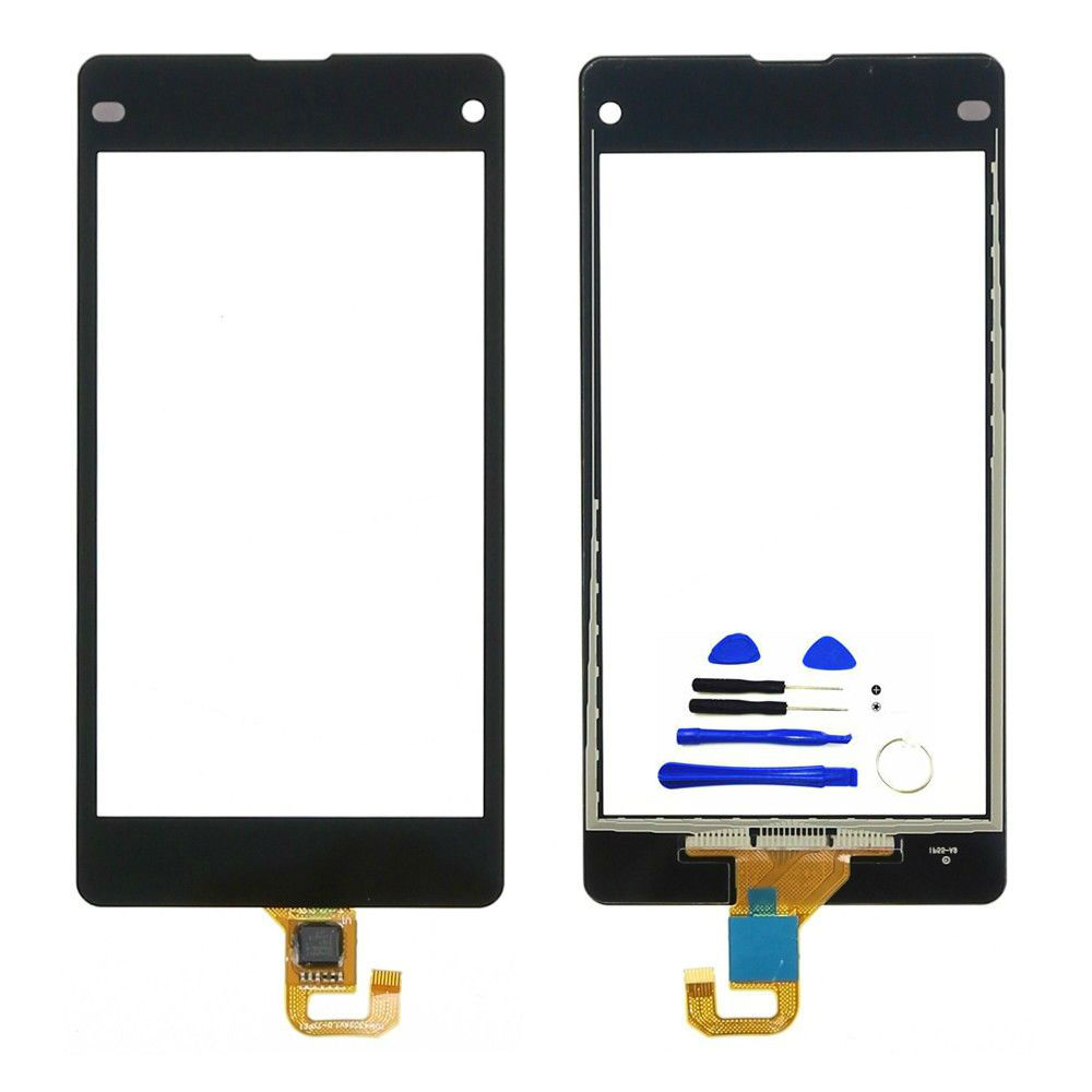RTBESTOYZ For Sony Xperia Z1 Mini Compact D5503 Touch Screen Digitizer Sensor Front Glass Panel Replacement Parts 4.3'' Z1 Mini