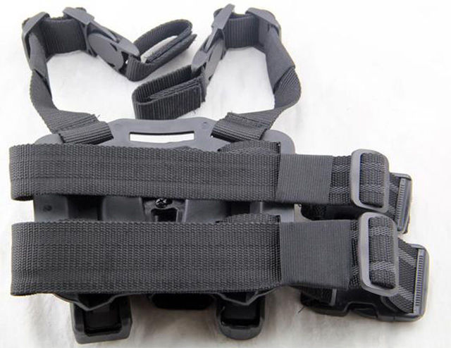 CQB ARMY BLACKHAWK Tactical left-hand Thigh Holster for SIG SAUER P226 P229 1