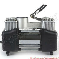 Hight quality Brand New Tire Inflator pump power line 3 meters, with a barometer of expansion pipe double cylinder pump