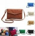 2017 hot sales Vintage Womens PU Leather Envelope Satchel Sling Purse Tote Bags For Women Cross Body Shoulder Handbags 11 colors