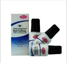 10ml Zero Sensitive individual eyelash glue for lashes low odor no stimulation eyelash extension glue makeup tool