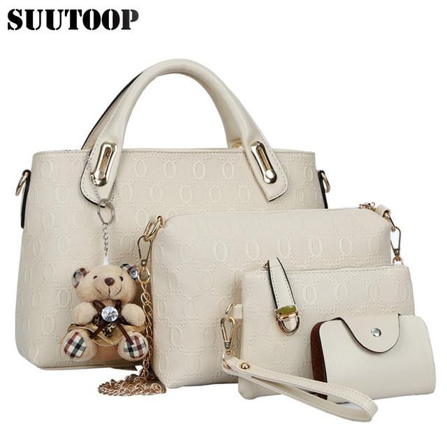 Famous Designer Suutoop Luxury Brands Women Bag Set Good Quality Medium Handbag New