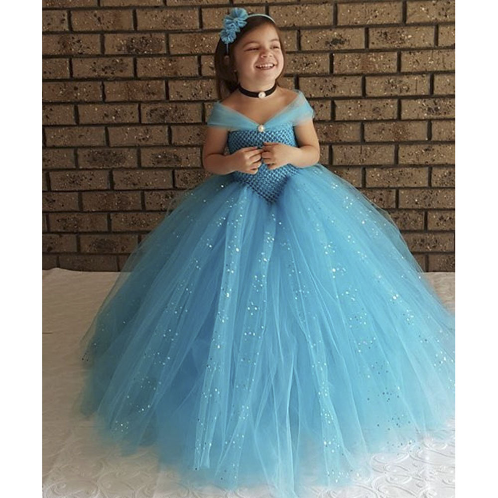 Childrens evening gowns girl cinderella dress formal dress baby ...