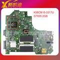 Para asus k56cm motherboard rev2.0 processador geforce gt635 i5-3317 2 gb 90r-nuhmb1100y testado