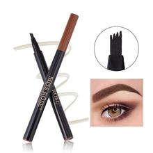 BellyLady Micro-engraved Natural Waterproof Liquid Eyebrows Pen Professional Makeup Eyebrow Pencil Eyes Cosmetics 1 set hair styling eyebrows beards pen razor salon engraved pen