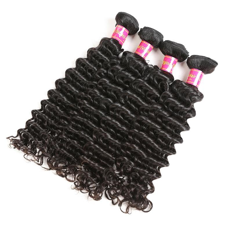 Ali Queen cheveux produits vierge cheveux malaisiens vague profonde en gros 10 pièces Lot cheveux humains faisceaux 10-26 pouces livraison gratuite - 6