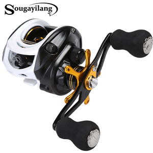 Sougayilang 9+1BB Baitcasting Fishing Reel 7:1 Left Right Hand Casting Fishing Reel from China Fishing Equipment
