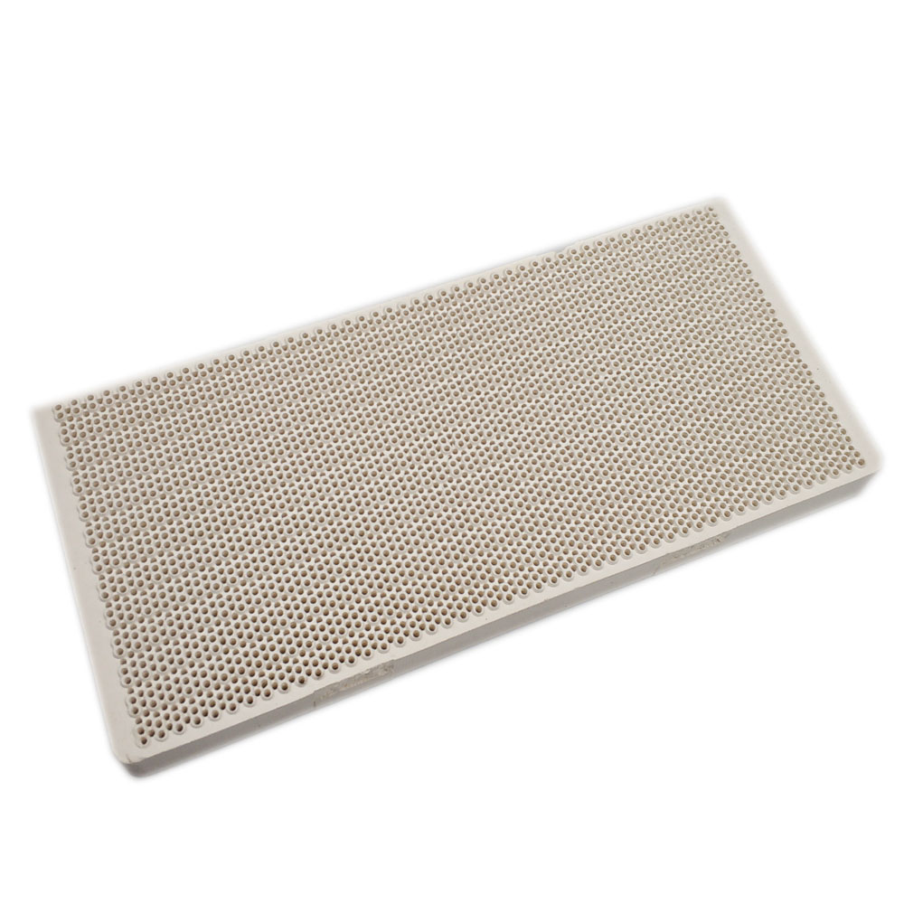 Earth Star High Effeciency Gas Heater Parts Burning Ceramic Plate 165*75*14mm Honeycomb Infrared Burner Replacement