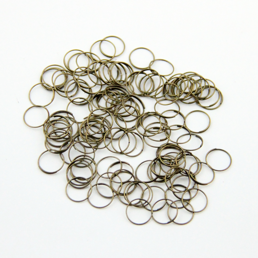 10000pcs lot 11mm Metal Rings Lamp Parts Connector Metal connectors for Crystal Chandelier Connector