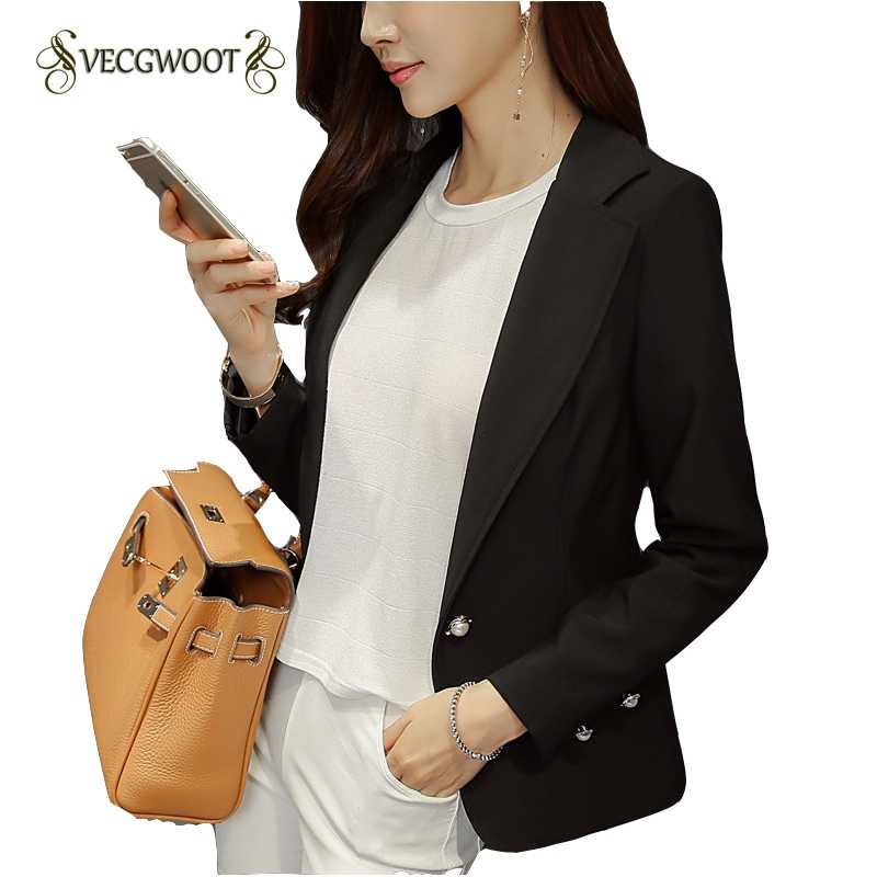 女性のブレザーファッション単一のボタンブレザー女性のスーツのジャケット黒/黄色ブレザー女性プラスサイズブレザーファム WLX1083