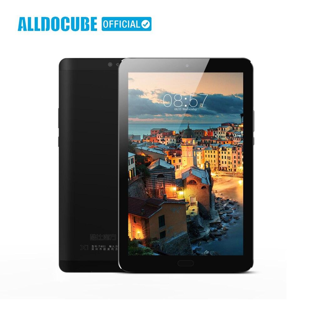 ALLDOCUBE X1 8.4 Pouces 2560*1600 IPS 4G Téléphone Appel Tablet PC MTK X20 Deca core Android 7.1 4 GB RAM 64 GB ROM 13MP Double SIM GPS OTG