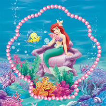 5D DIY Diamond Mosaic  painting cross stitch Painting Crafts Embroidery Decoration Gifts Mermaid