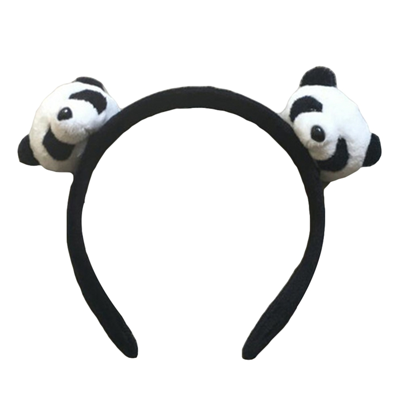 FULL ALL Designs , New HOT 3cm Little Plush toys FOR Hair Band , Hair TIE , Kid's Party Gift Panda Plush Stuffed Hairband
