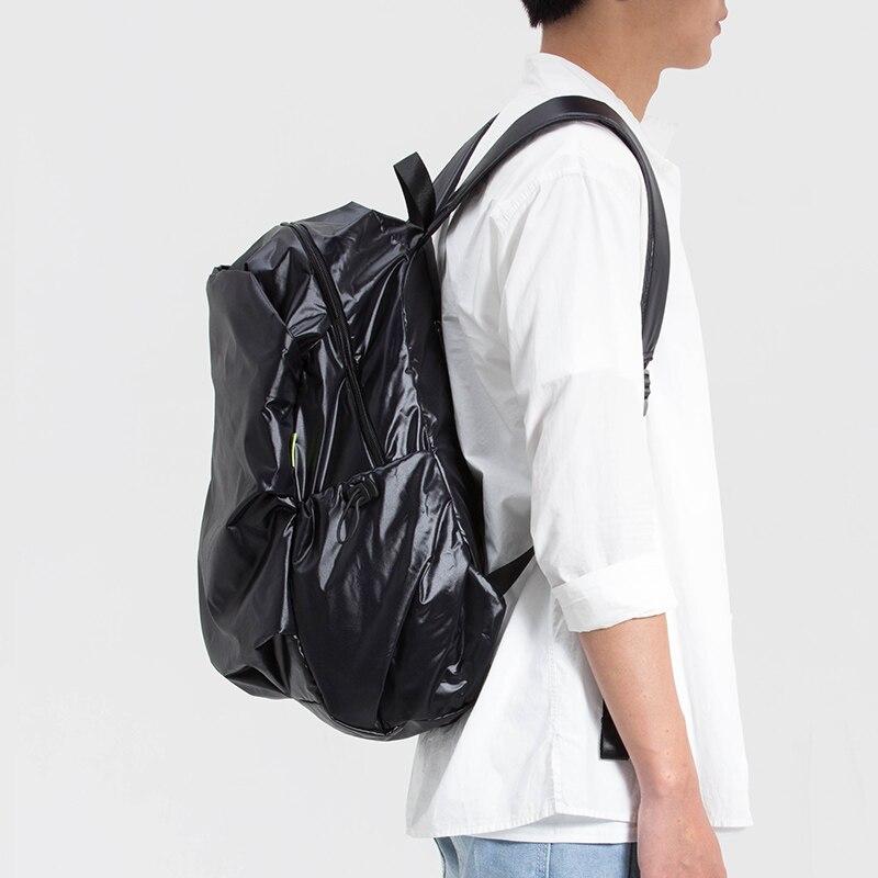 Style loisirs voyage sac à la mode étudiant cartable hommes sac à bandoulière ordinateur portable noir sac à dos blanc Bookbag Designer solide