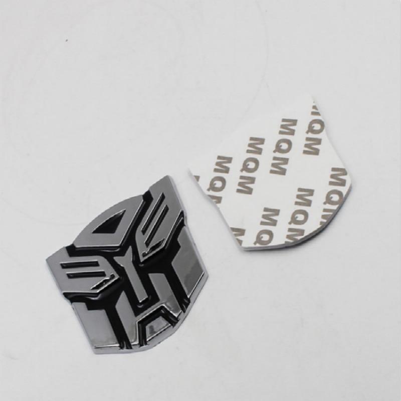 car Transformers logo stainless steel for Nissan MAXIMA ALTIMA LEAF GR-R 370Z NV200 MICRA NOTE JUKE EVALIA PATHFINDER PULSAR