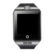 Q18 Relógio Inteligente Smartwatch Aptidão Sono Rastreador Cartão SIM Suporte NFC Bluetooth Relógio Do Telefone Relógio de Pulso para huawei xiaomi telefone