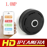 1 0MP HD 1080P VR Wifi Camera Fisheye 360 Degree Surveillance IP Camera MINI Wireless Security