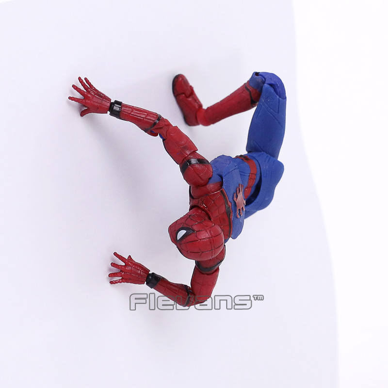 Image 5 - Mafex 047 Spider Man Homecoming Spiderman PVC Action Figure Collectible Model Toy 14cmmodel toyfigures collectiblespvc action figure -