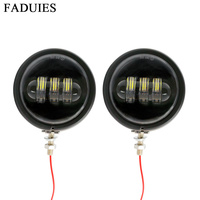 FADUIES Motorcycle Accessories 4.5 Housing bracket mount ring 4 1/2 Led Auxiliary Spot light For bike FLHX Street Glide