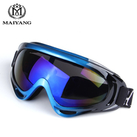 Outdoor Ski Goggles Double UV400 Anti Fog Big Ski Mask Glasses Skiing Men Women Snow Snowboard