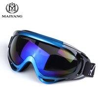 Outdoor Ski Goggles Double UV400 Anti Fog Big Ski Mask Glasses Skiing Men Women Snow Snowboard