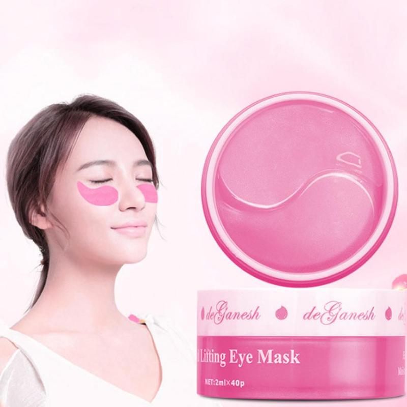 Image 3 - 60pcs Moisturizing Firming Eye Masks Collagen Crystal Smooth Eye Patches For eye Patch Dark Circles Fine Lines Removal-in Creams from Beauty & Health