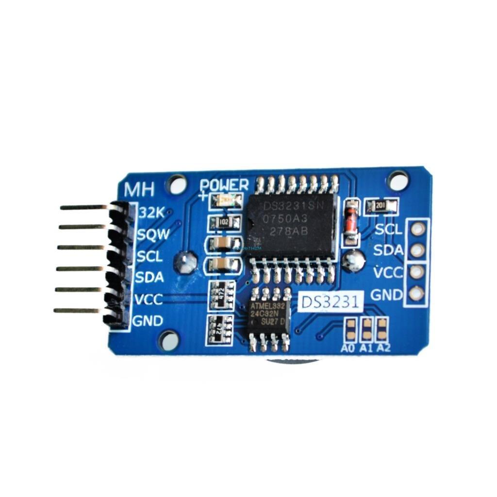5 шт./лот DS3231 AT24C32 IIC модуль точность часов реального времени модуль памяти
