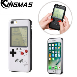 Gameboy Tetris Phone Cases for