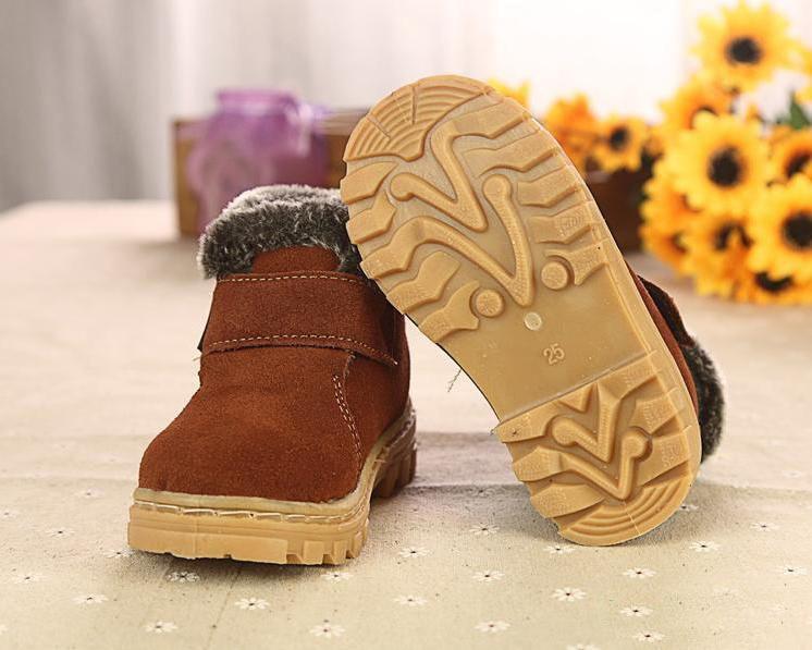 Cuero Gratis Verdadero Invierno Envío De Botas Zapatos Nieve Niño 1FSwS54q