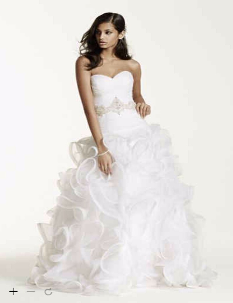 Wedding Dresses  Free Shipping : Custom made new free shipping ruffled skirt wedding dress with