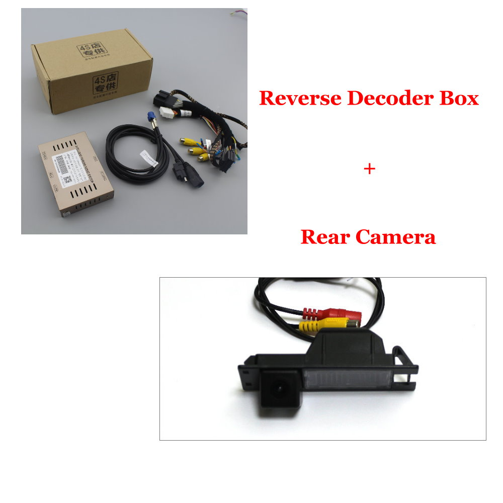 Liandlee Original Screen Update System For Chevrolet Malibu XL8 2016 Rear Reverse Parking Camera Digital Decoder Rear camera in Vehicle Camera from Automobiles Motorcycles
