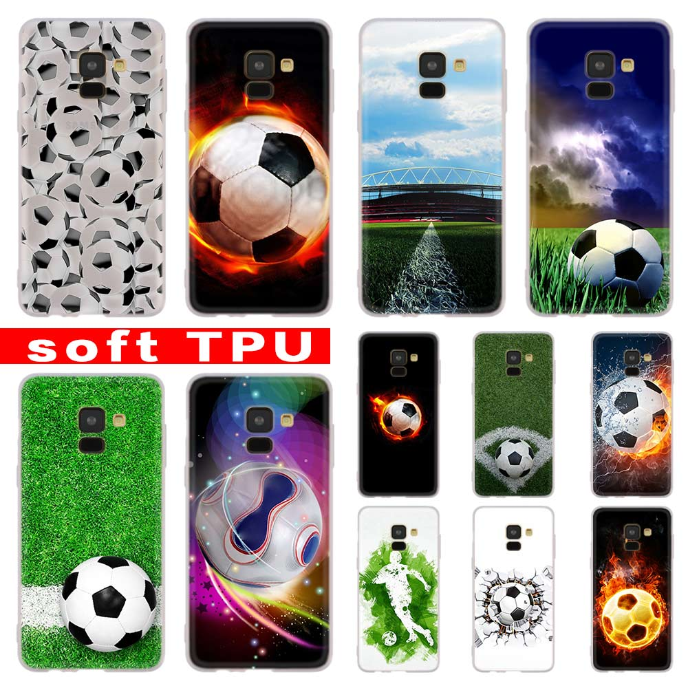 Cellphones & Telecommunications Beautiful Football Soccer Ball On Water Burning Fire Tpu Phone Case For Samsung Galaxy J4 J5 J6 Plus J7 J8 2018 J5 J7 Prime Soft Silicone