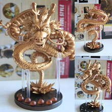 Hot-selling new arrival boxed dragon ball Z golden dragon pvc hand-done toy model JP action anime figures cartoon free shipping