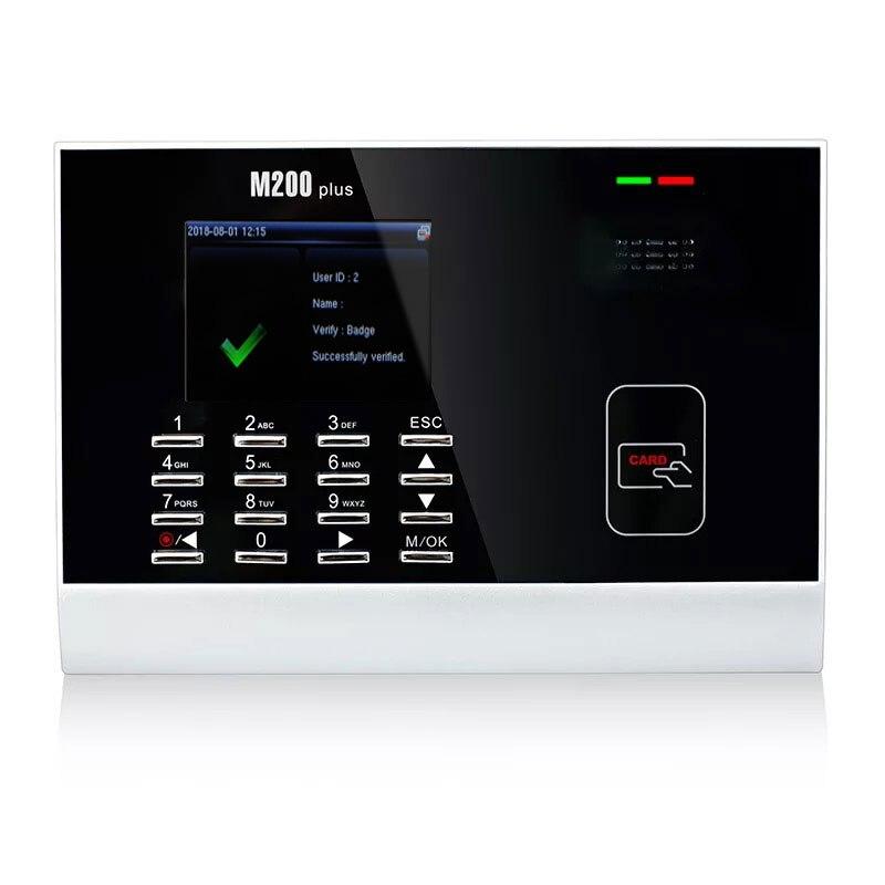 ZK M200Plus TCP/IP tarjeta tiempo asistencia Terminal M200Plus tiempo tarjeta de grabación 125 KHZ tarjeta de proximidad grabador de tiempo - 3