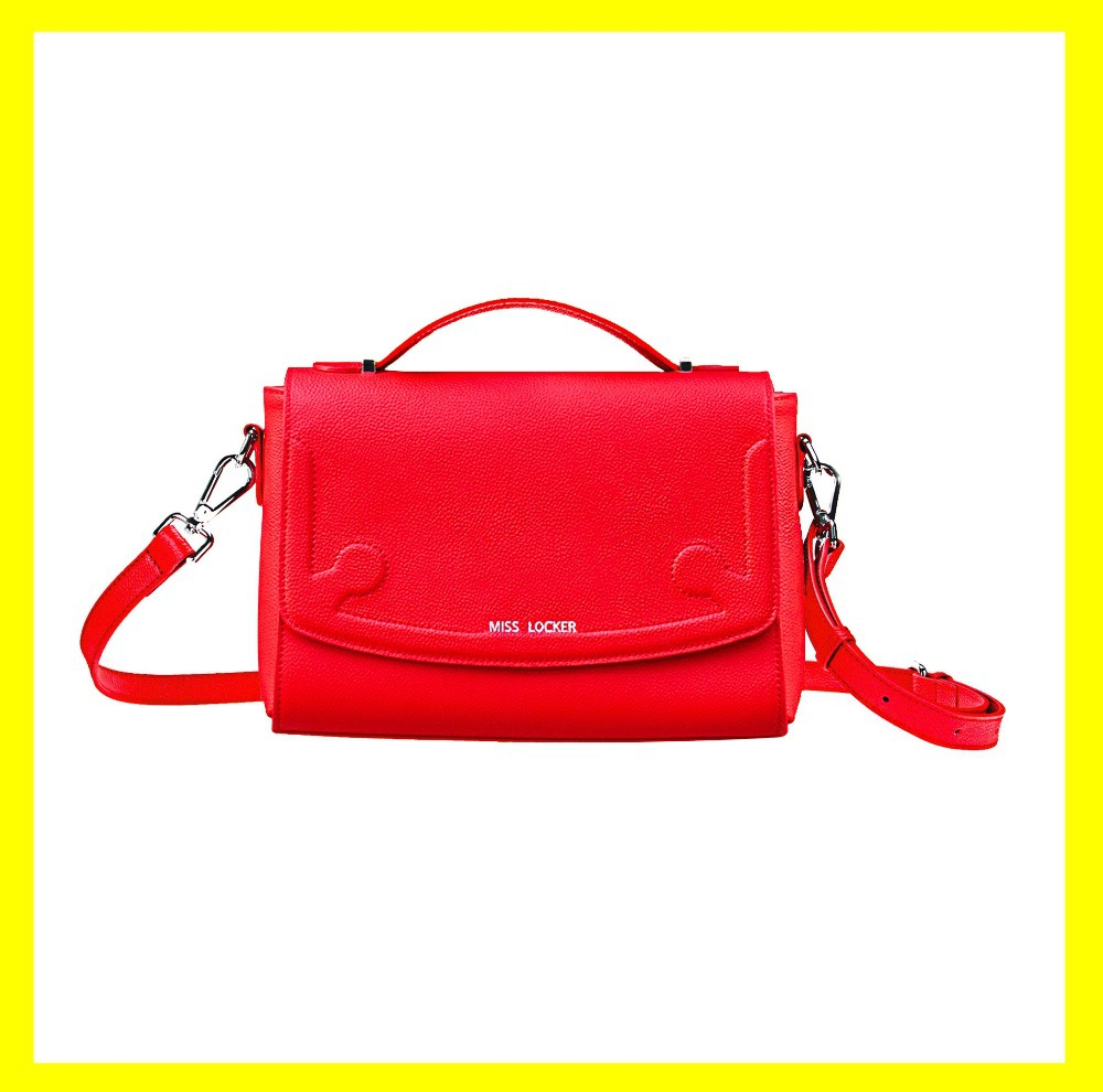 6f700ca6089e New 2015 HOT Cute Crossbody Bag Fashion Genuine Leather Shoulder Handbags  College Female Lady Teen Girl Women Messenger Purse. Price
