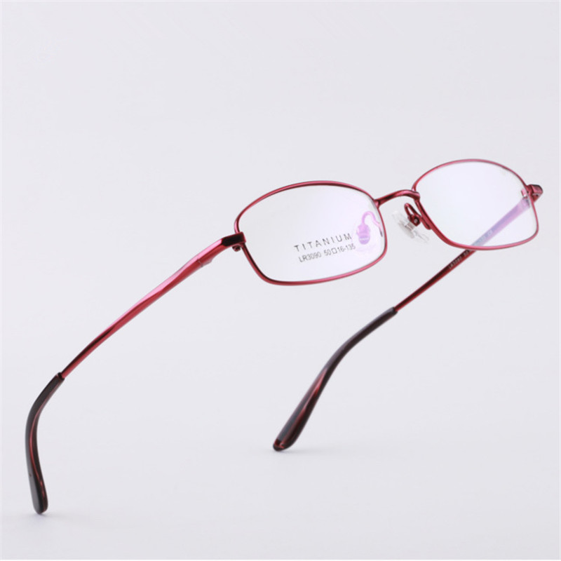 218d2b5605f Detail Feedback Questions about Pure Titanium Glasses Frame Men  Prescription glasses Full frame Small size Eyeglasses frame Women 090 Optical  glasses 50 16 ...