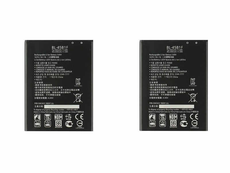 2x3000 мА/ч, BL-45B1F BL45B1F Замена Батарея для LG V10 H968 H961N H900 H901 VS990 F600 F600L F600K H960A LS992