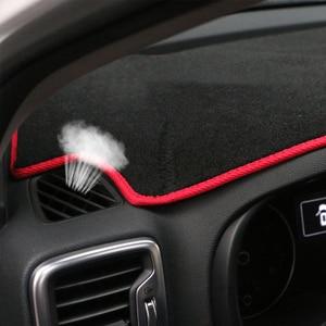 Image 5 - For Kia Sportage 2016 2017 2018 2019 Car Dashboard Avoid Light Pad Instrument Platform Desk Cover Mat Carpets Trim Accessories
