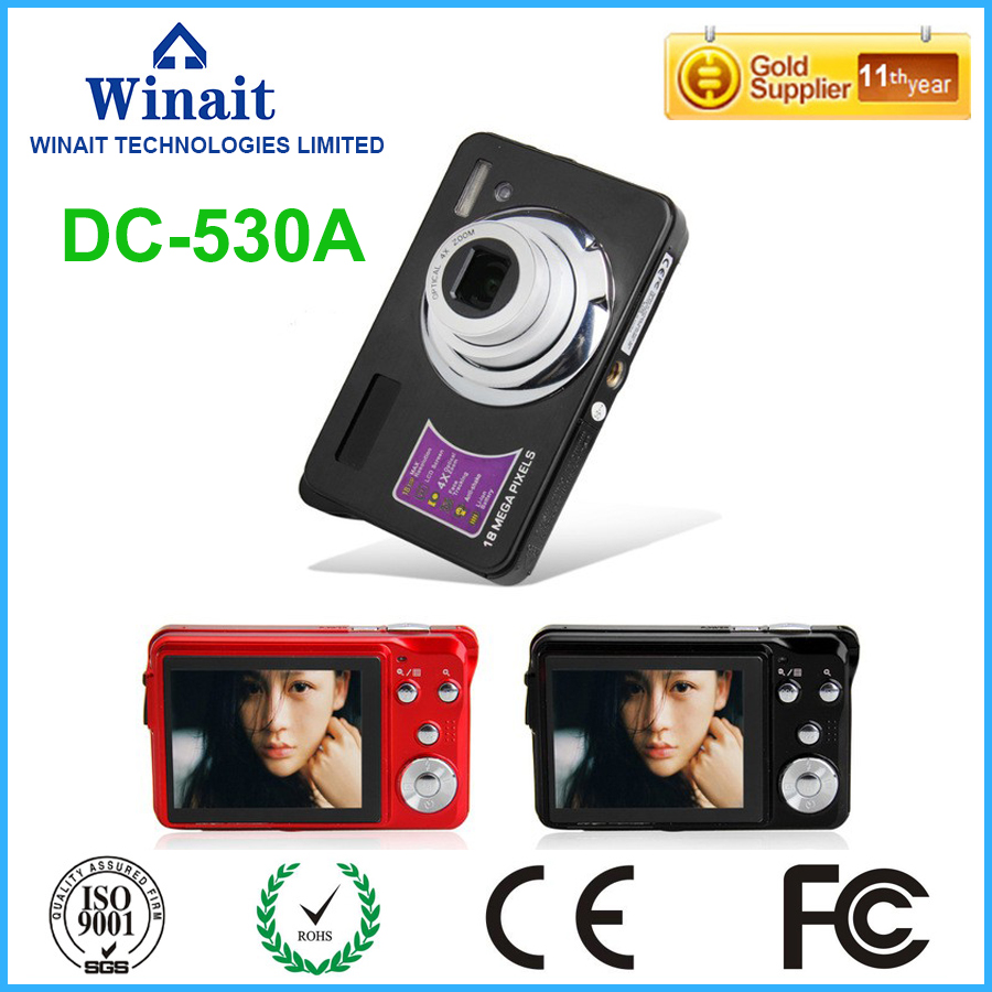 3X Optical Zoom 4x Digital Zoom Professional Digital Camera DC-530A 18MP 2.7 1080P HD Digital Cameras Video Recorder Photo Cam