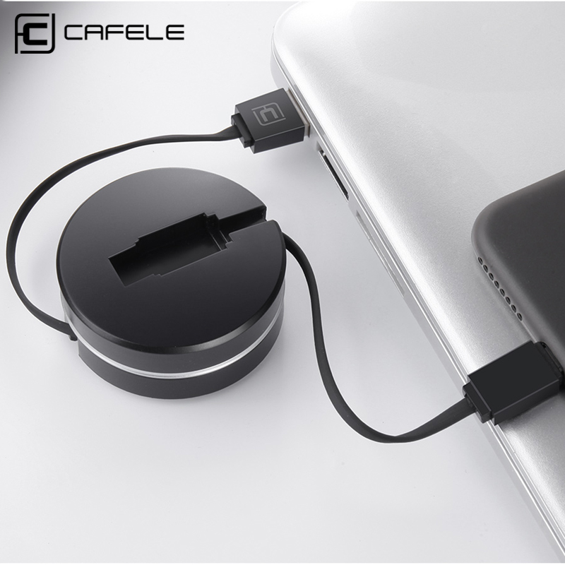 CAFELE USB Type C Cable USB-C Type-c Data Cable For Xiaomi Mi 6 Mi5 Huawei Samsung S8 Oneplus 3 2 Charger Mobile Phone Cables