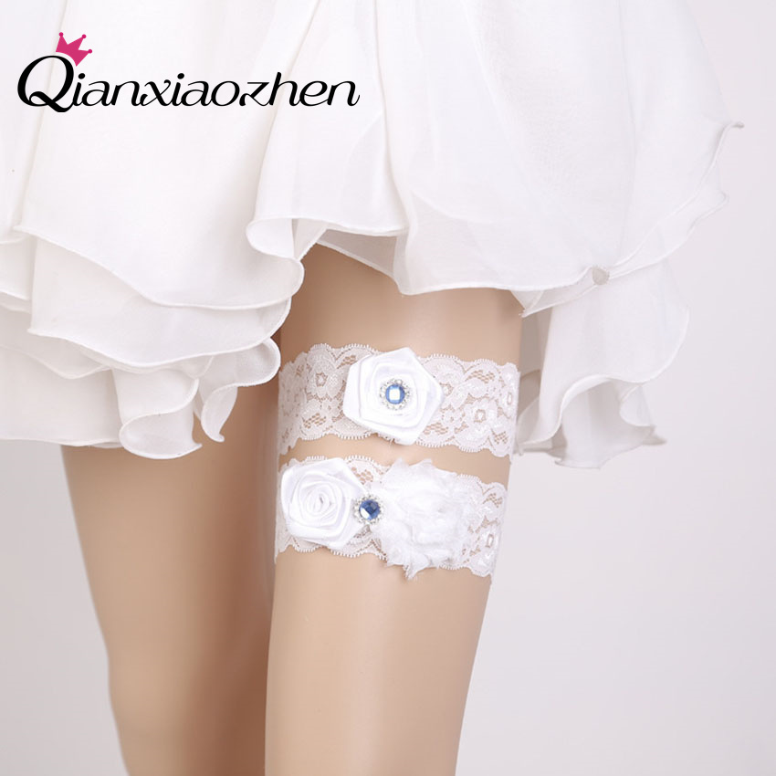 Why Two Garters For Wedding: Aliexpress.com : Buy Qianxiaozhen 2pcs/set Lace Leg
