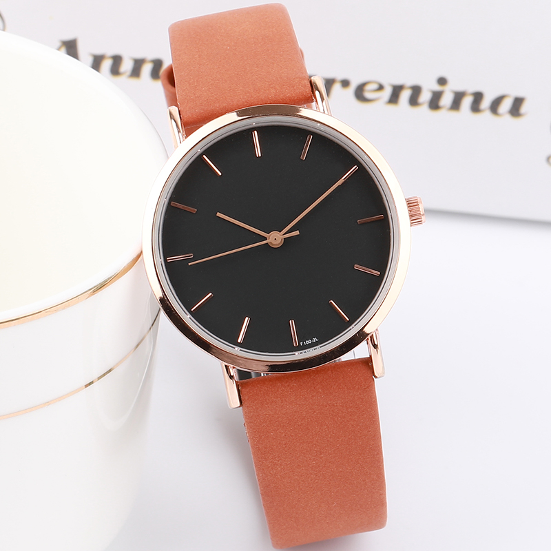 New Arrival Women Simple Super Thin Leather Wristwatch Ladies Fashion Casual Dress Quartz Watches Clock Relogio Feminino Gifts women watches gem cut geometry crystal leather quartz wristwatch fashion dress watch ladies gifts clock relogio feminino 5 color