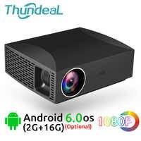 ThundeaL projecteur Full HD F30 natif 1920x1080 5500Lumen 3D LED vidéo LCD en option F30 UP WiFi Android Bluetooth F30Up projecteur
