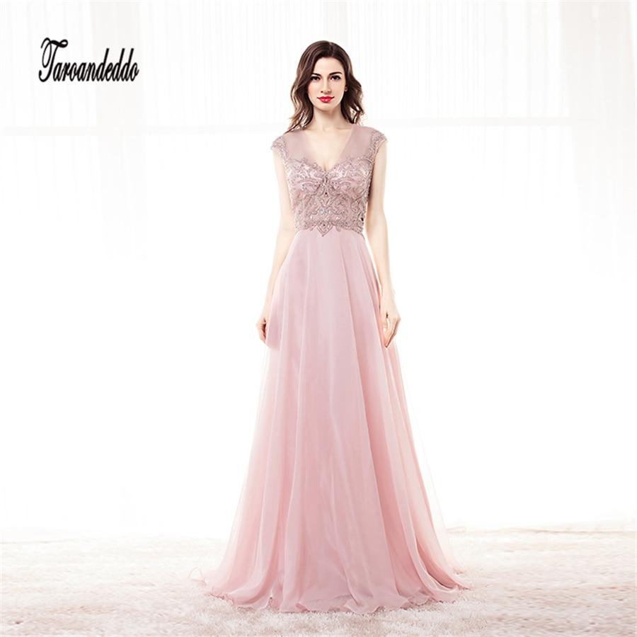 Vestido largo fiesta rosa