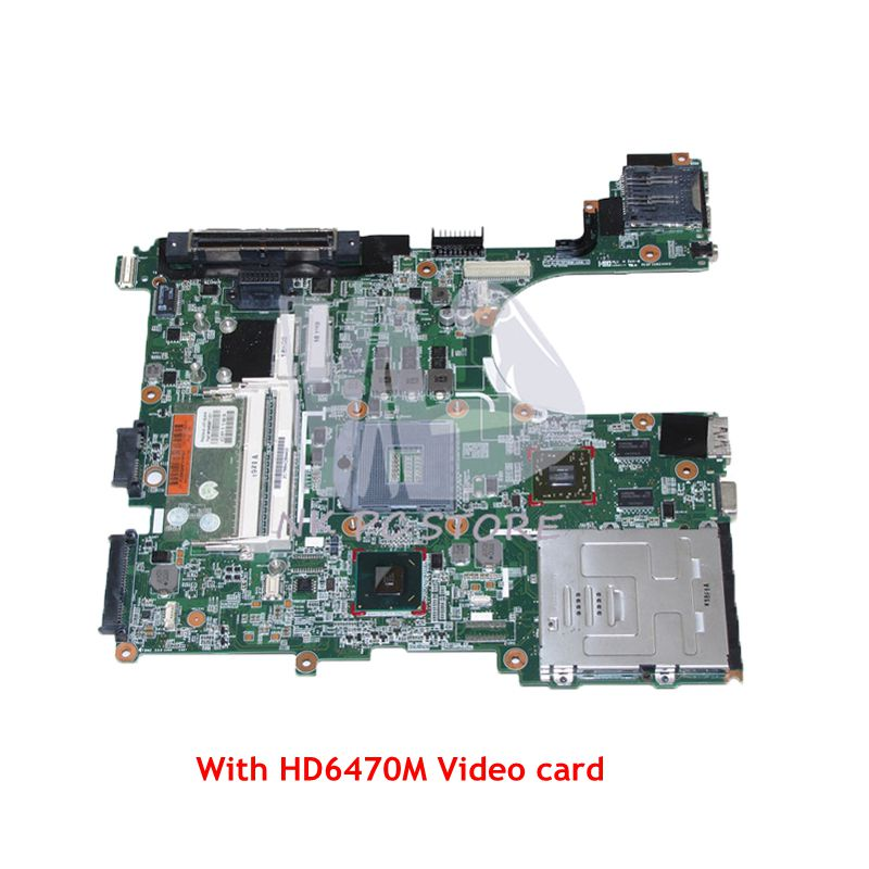 все цены на NOKOTION 646967-001 For HP EliteBook 8560P 6560B Laptop Motherboard QM67 DDR3 HD6470M Video Card Full tested онлайн
